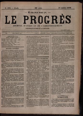 Le Progrès (1841-1914) 1879-07-17