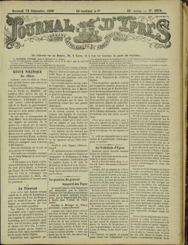 Journal d'Ypres (1874 - 1913) 1900-09-12