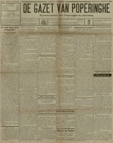 De Gazet van Poperinghe  (1921-1940) 1930-06-15