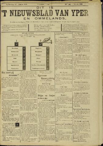 Nieuwsblad van Yperen en van het Arrondissement (1872 - 1912) 1899-10-14