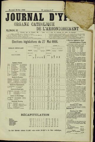 Journal d'Ypres (1874 - 1913) 1906-05-30
