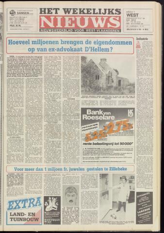 Het Wekelijks Nieuws (1946-1990) 1985-11-08