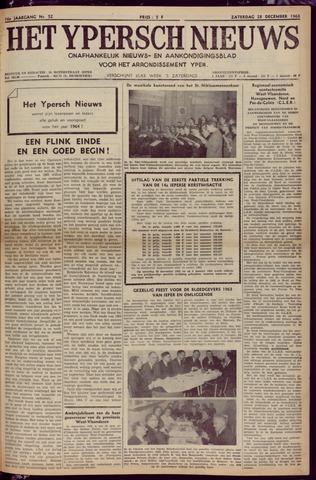 Het Ypersch nieuws (1929-1971) 1963-12-28