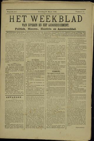 Het weekblad van Ijperen (1886 - 1906) 1894-03-10