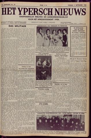 Het Ypersch nieuws (1929-1971) 1966-09-02