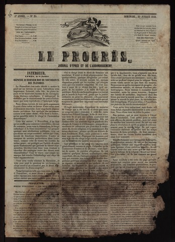 Le Progrès (1841-1914) 1841-07-25
