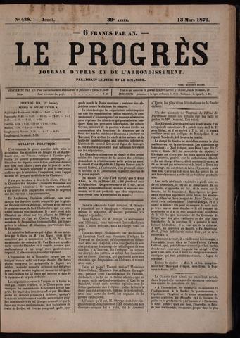 Le Progrès (1841-1914) 1879-03-13