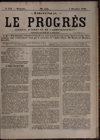Le Progrès (1841-1914) 1879-12-07
