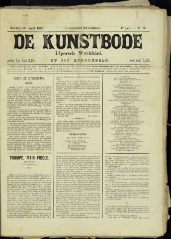 De Kunstbode (1880 - 1883) 1882-04-30