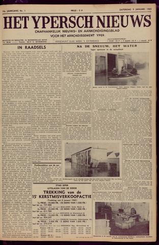 Het Ypersch nieuws (1929-1971) 1965-01-09