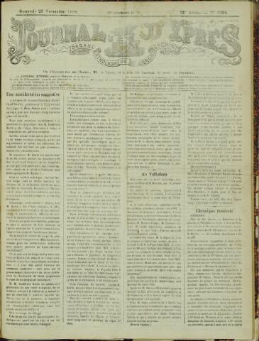 Journal d'Ypres (1874 - 1913) 1898-11-23
