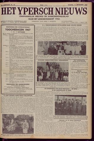 Het Ypersch nieuws (1929-1971) 1967-09-15