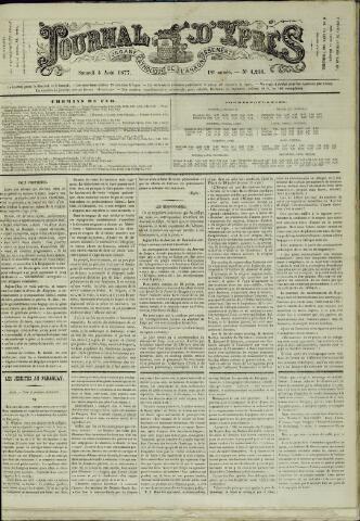 Journal d'Ypres (1874 - 1913) 1877-08-04