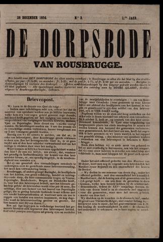 De Dorpsbode van Rousbrugge (1856-1857 en 1860-1862) 1856-12-28