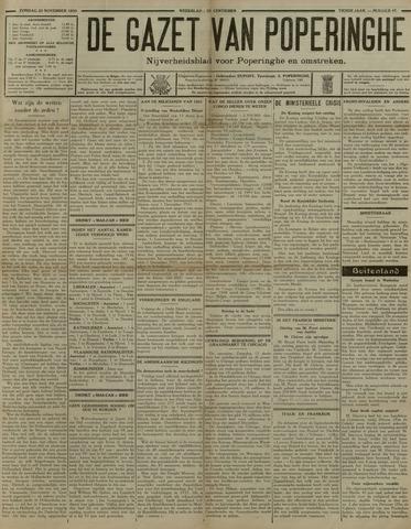 De Gazet van Poperinghe  (1921-1940) 1930-11-23