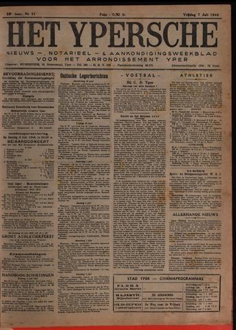 Het Ypersch nieuws (1929-1971) 1944-07-07