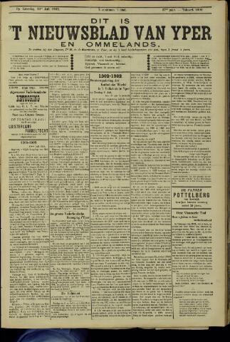 Nieuwsblad van Yperen en van het Arrondissement (1872 - 1912) 1902-07-12