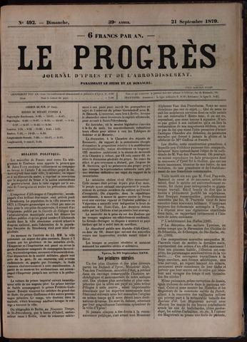 Le Progrès (1841-1914) 1879-09-21