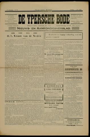 De Ypersche bode (1927-1928) 1928-07-01