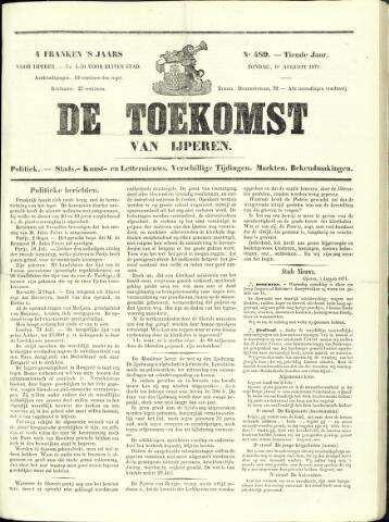 De Toekomst (1862 - 1894) 1871-08-06