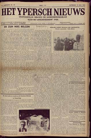Het Ypersch nieuws (1929-1971) 1964-07-18
