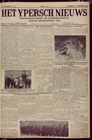 Het Ypersch nieuws (1929-1971) 1962-11-17