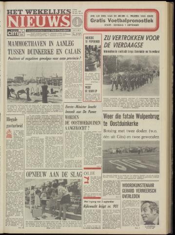 Het Wekelijks Nieuws (1946-1990) 1974-08-30