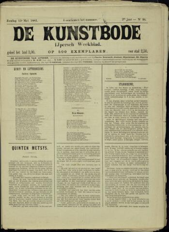 De Kunstbode (1880 - 1883) 1881-05-15