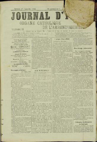 Journal d'Ypres (1874 - 1913) 1906-09-17