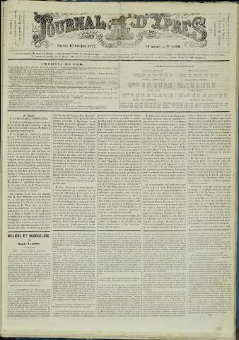 Journal d'Ypres (1874 - 1913) 1877-10-13