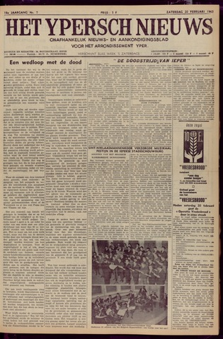 Het Ypersch nieuws (1929-1971) 1965-02-20