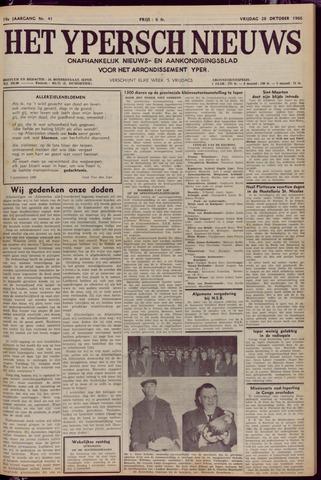 Het Ypersch nieuws (1929-1971) 1966-10-28