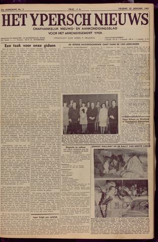 Het Ypersch nieuws (1929-1971) 1967-01-20