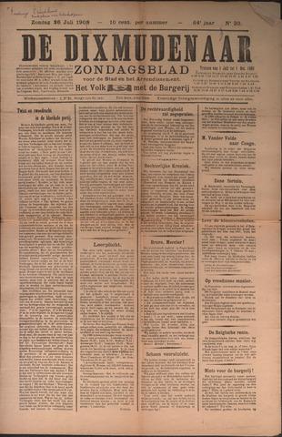 De Dixmudenaar 1909-07-26