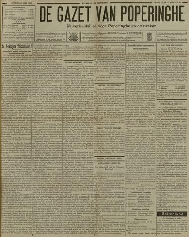 De Gazet van Poperinghe  (1921-1940) 1930-07-20