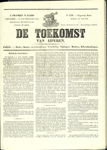 De Toekomst (1862 - 1894) 1870-06-12