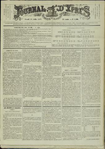 Journal d'Ypres (1874 - 1913) 1877-07-28