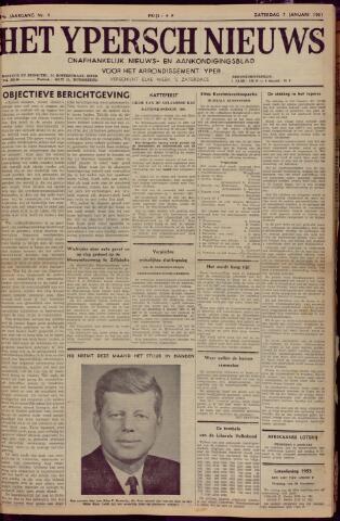 Het Ypersch nieuws (1929-1971) 1961-01-07