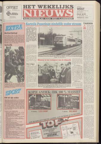 Het Wekelijks Nieuws (1946-1990) 1987-05-29