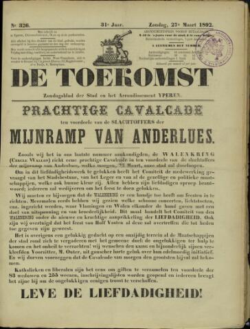 De Toekomst (1862 - 1894) 1892-03-27