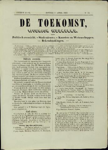 De Toekomst (1862 - 1894) 1863-04-05