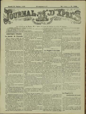 Journal d'Ypres (1874 - 1913) 1899-10-21