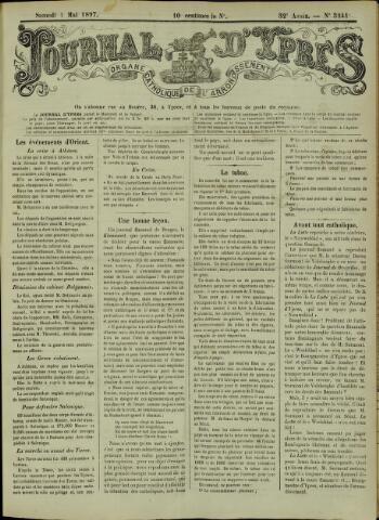Journal d'Ypres (1874 - 1913) 1897-05-01