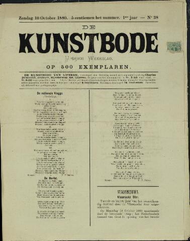De Kunstbode (1880 - 1883) 1880-10-10