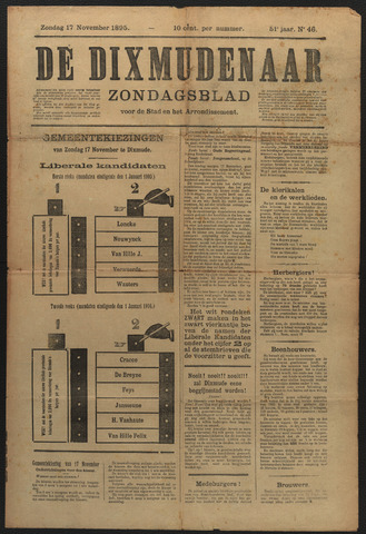 De Dixmudenaar 1895-11-17