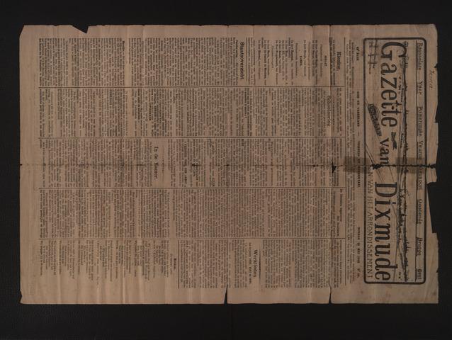 Gazette van Dixmude 1912-05-12