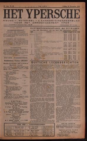 Het Ypersch nieuws (1929-1971) 1943-11-26