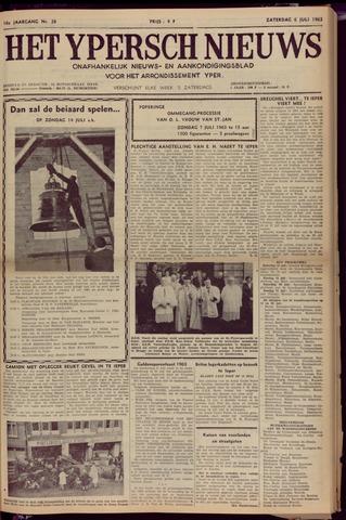 Het Ypersch nieuws (1929-1971) 1963-07-06