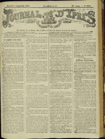 Journal d'Ypres (1874 - 1913) 1897-09-01