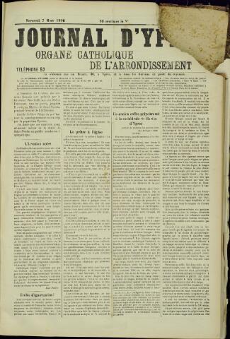 Journal d'Ypres (1874 - 1913) 1906-03-07
